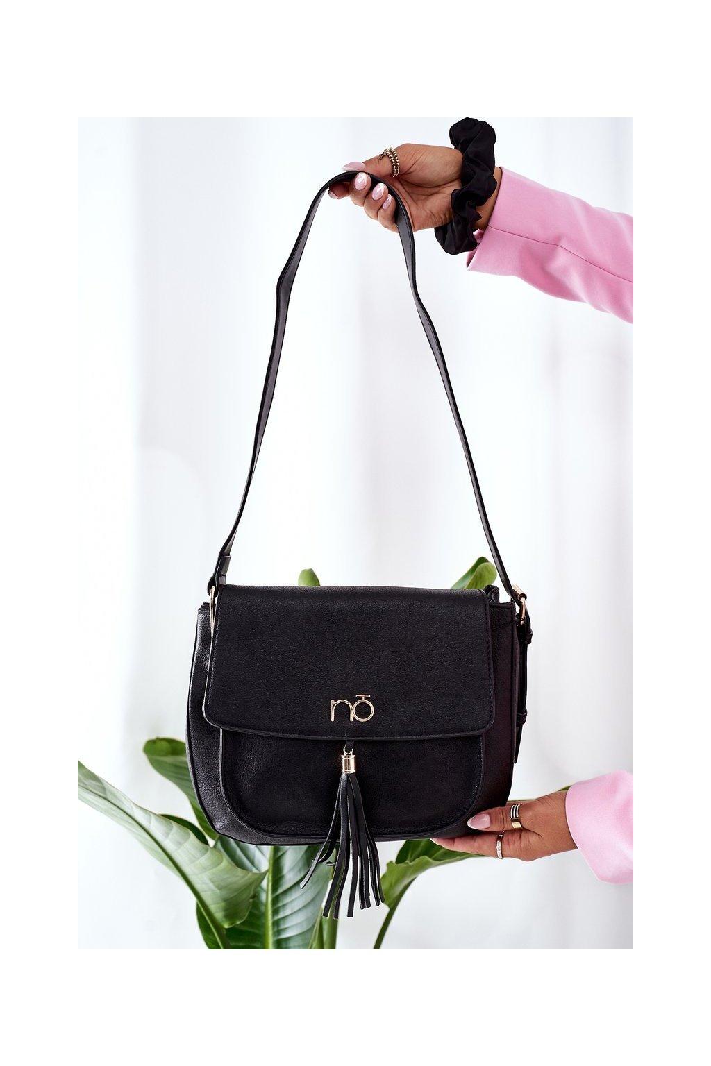 Dámska kabelka čierna kód kabelky NBAG-L1420-C020 BLK