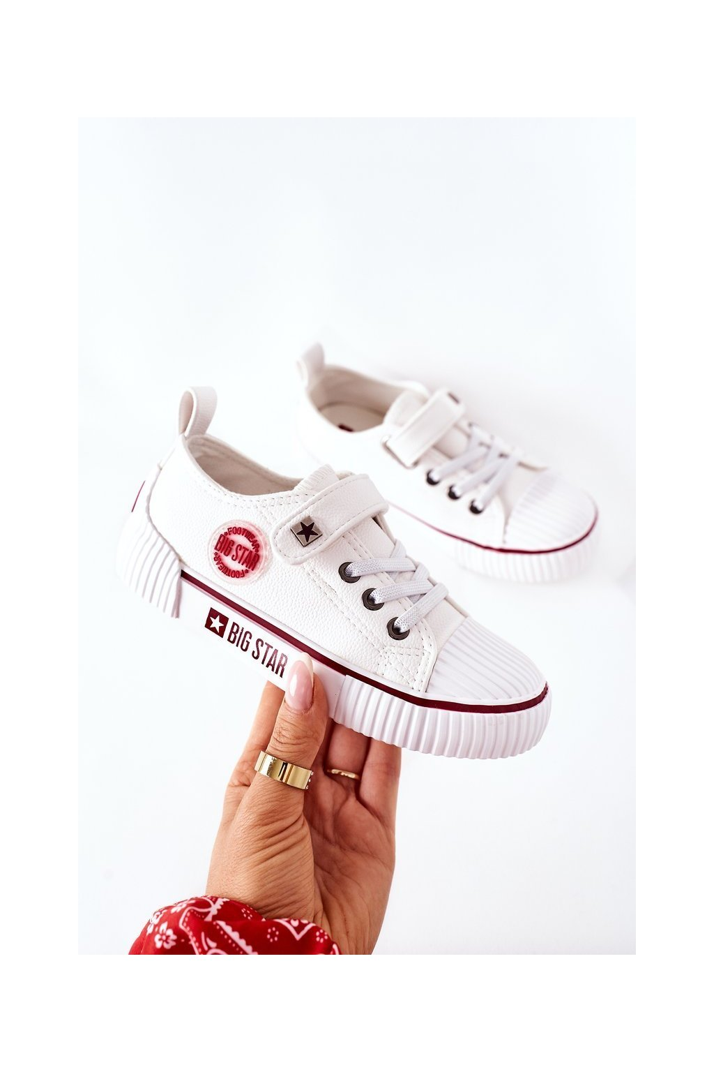 Detské tenisky farba biela kód obuvi II374040 WHITE