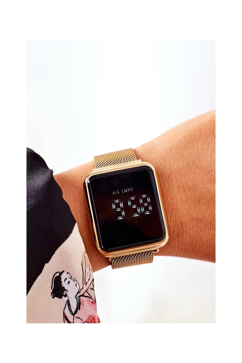 Hodinky farba kód DZ-3388 GOLD