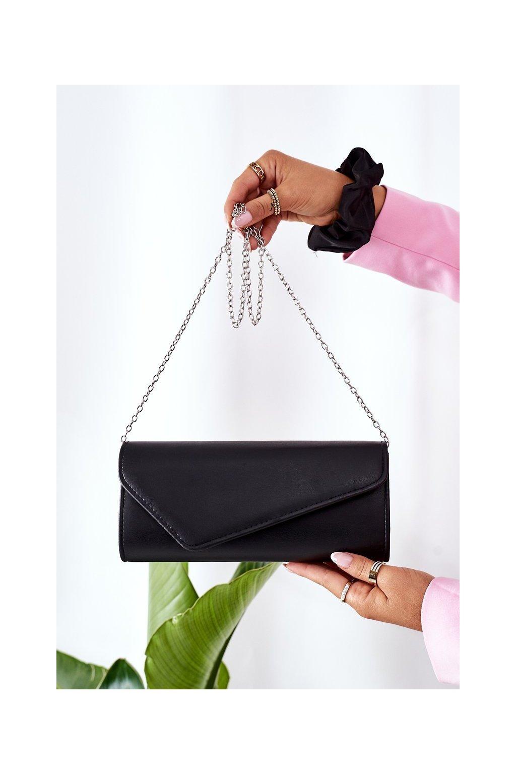 Dámska kabelka čierna kód kabelky AC-186 BLACK