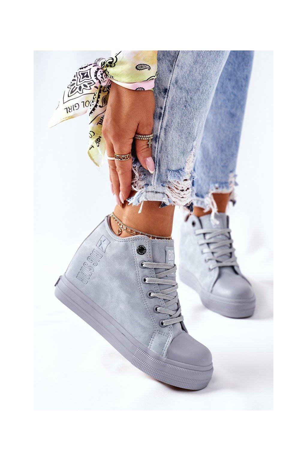 Dámske tenisky farba modrá kód obuvi II274094 BLUE