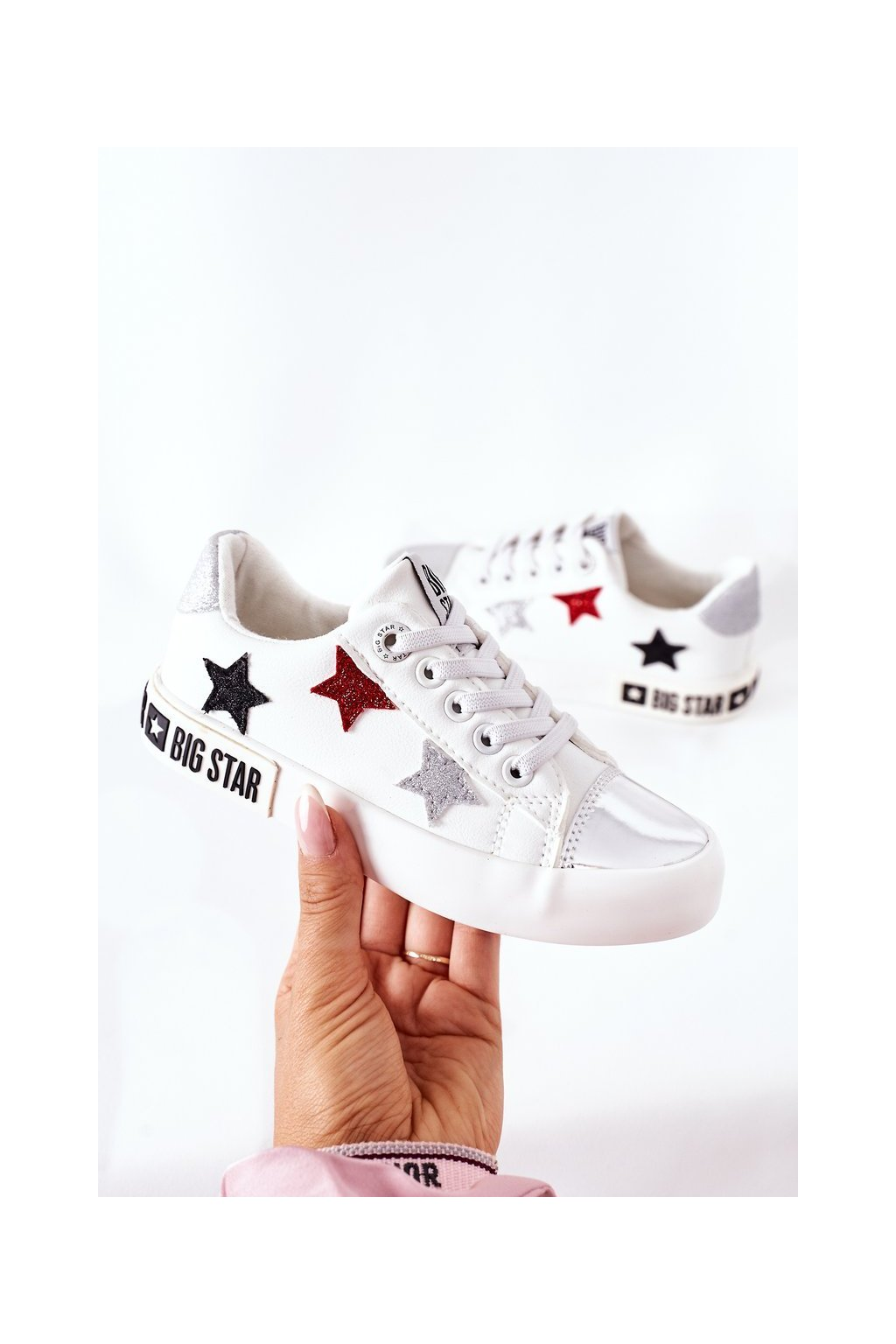 Detské tenisky farba biela kód obuvi II374032 WHITE
