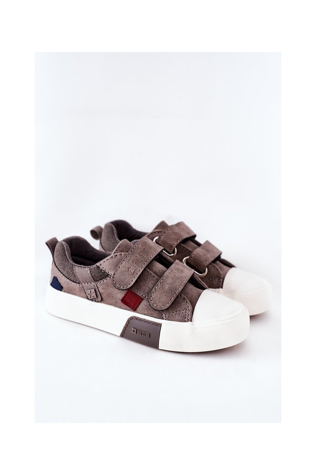 Detské tenisky farba sivá kód obuvi II374018 BEIGE