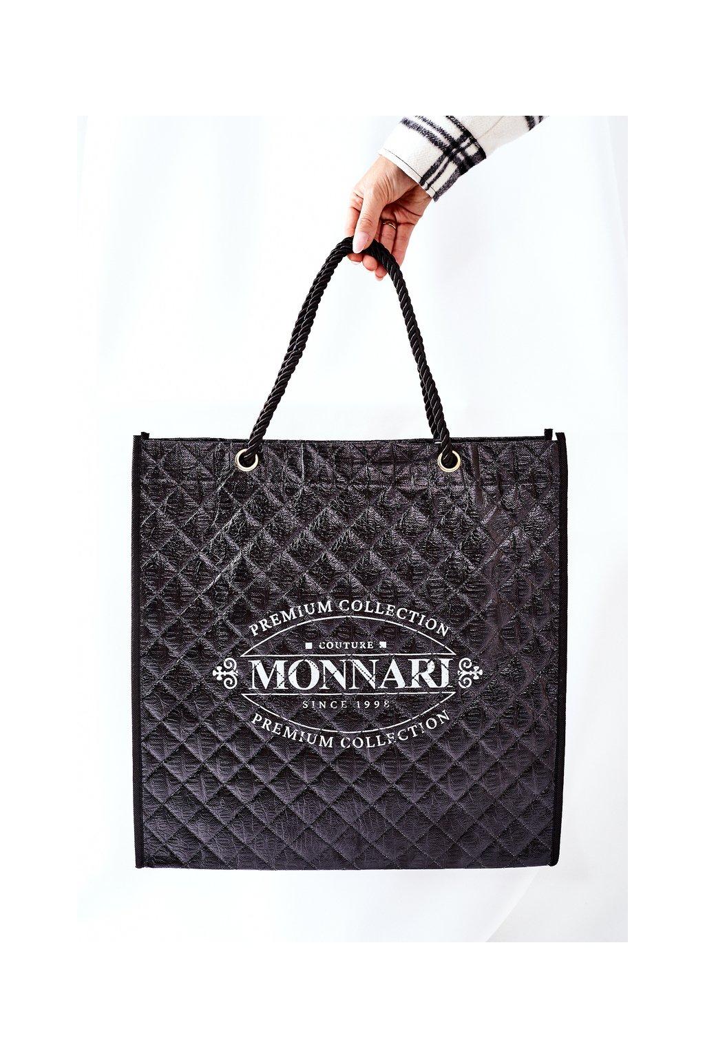 Dámská Taška Shopper Monnari čierna NBAG0030-020