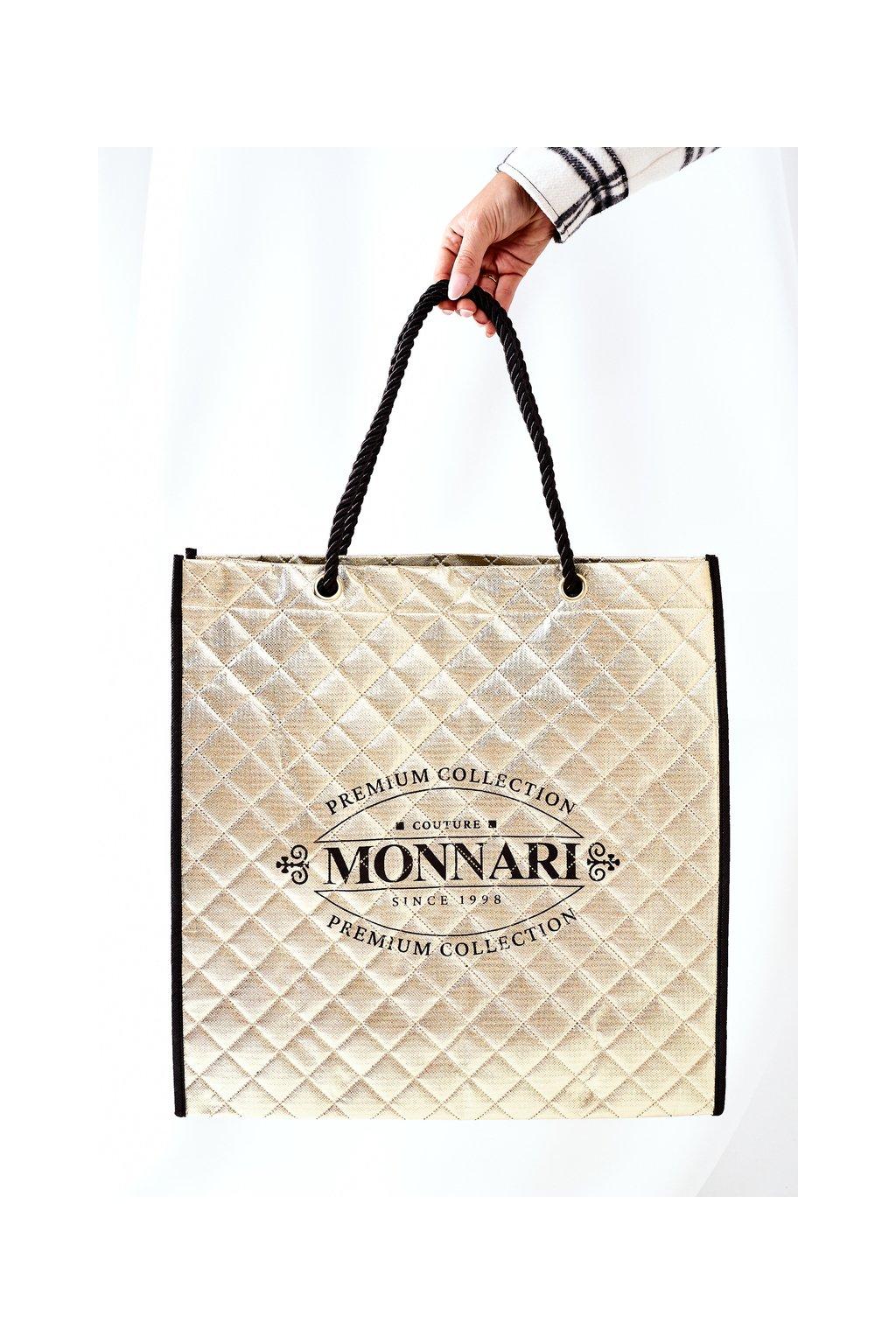 Dámská Taška Shopper Monnari zlatá BAG0030-023
