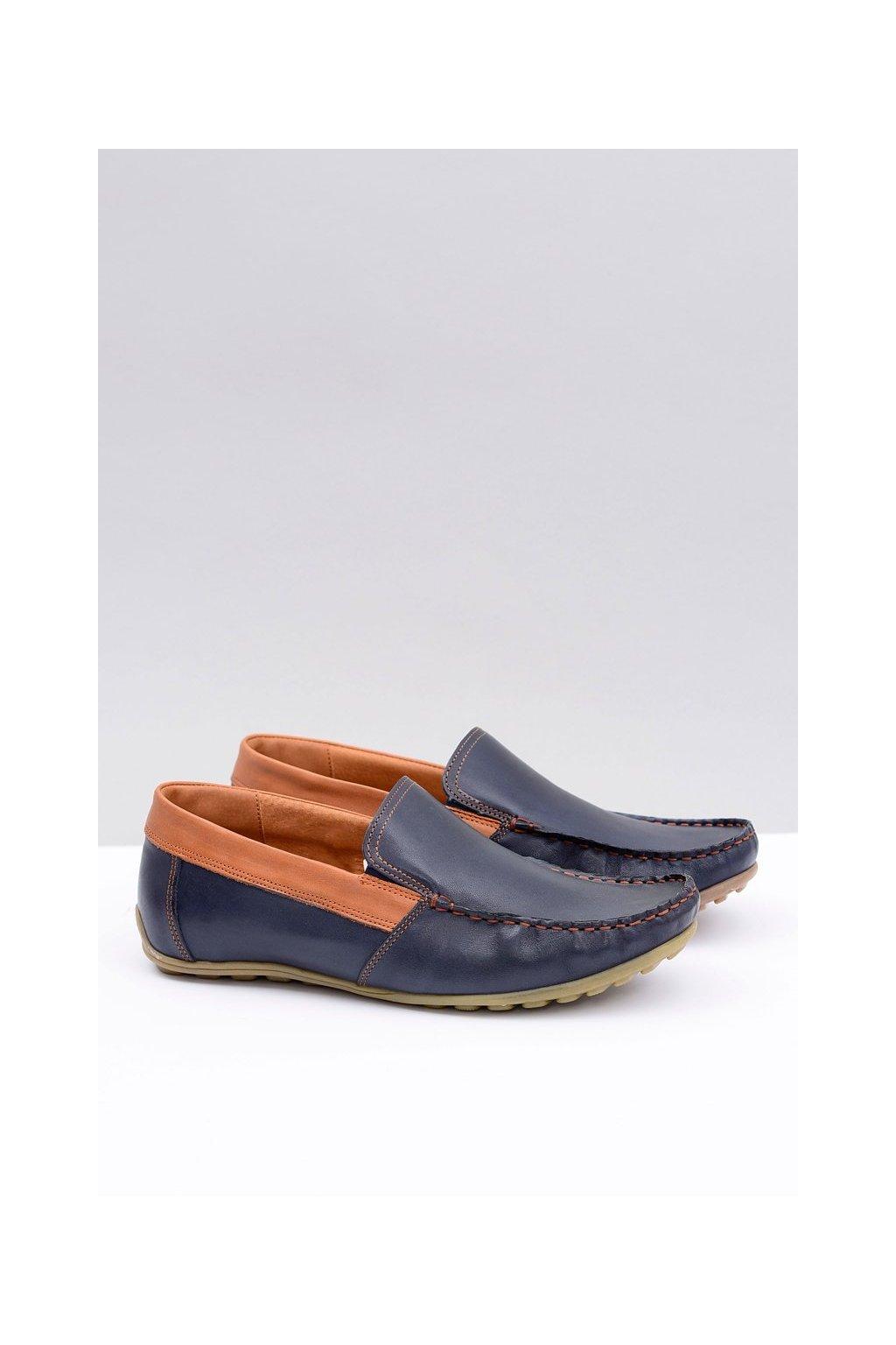 Pánske poltopánky farba modrá kód obuvi 145 BUFFALO NIEBIESKIE CRUST RUDY