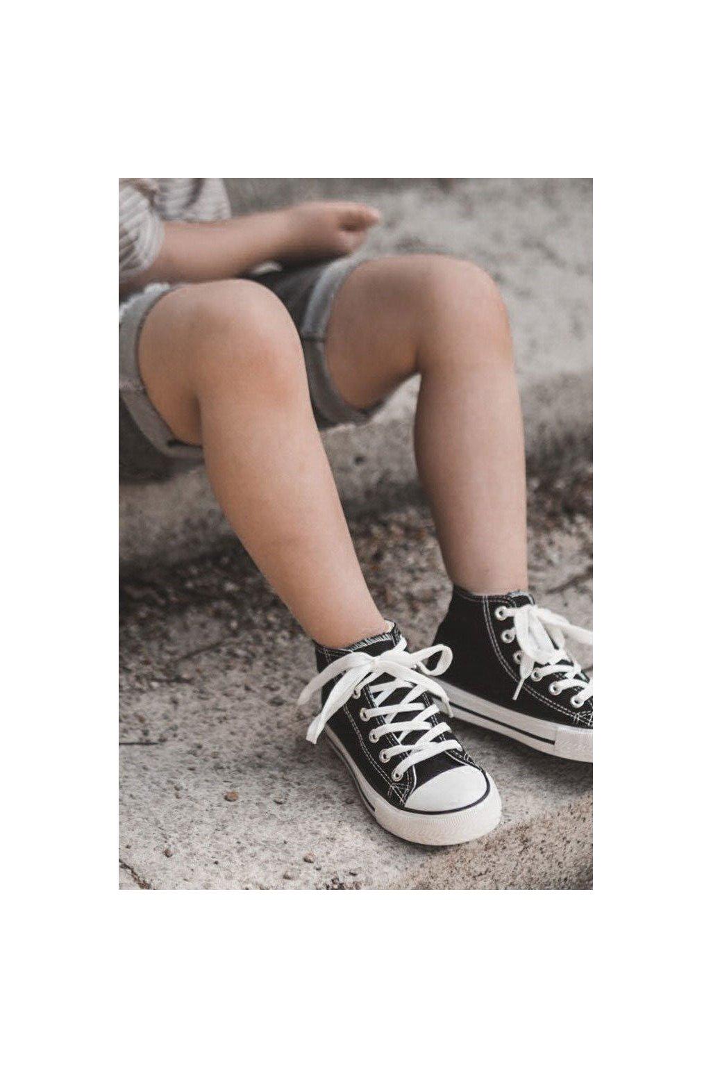 Detské tenisky farba čierna kód obuvi 845-2/3A 80090-A BLK