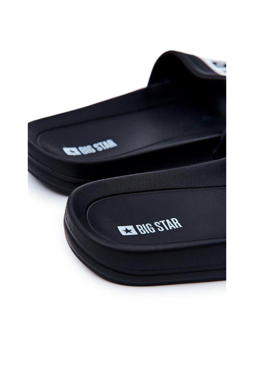 Pánske šľapky farba čierna kód obuvi DD174699 BLK