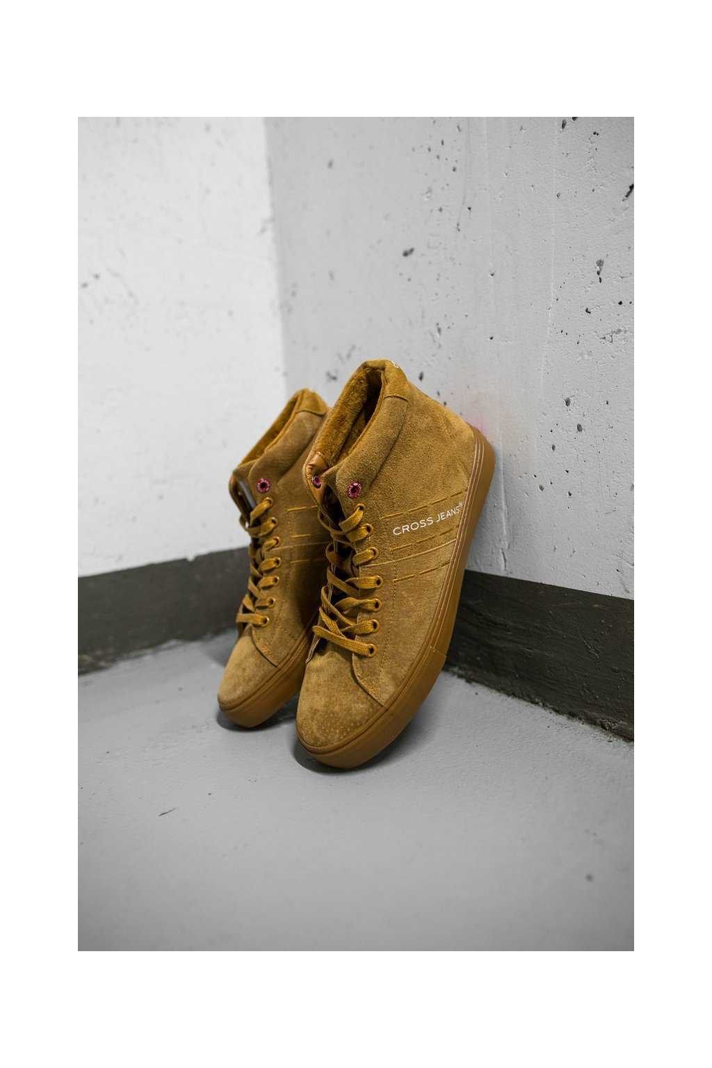 Hnedá obuv kód topánok EE1R4054C CAMEL