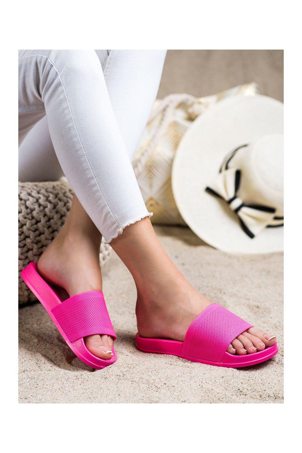 Ružové dámske šľapky Shelovet kod GJ01RO