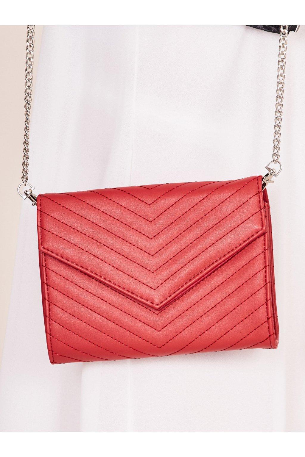 Listová kabelka červená NJSK YP-TR-dx4208.66
