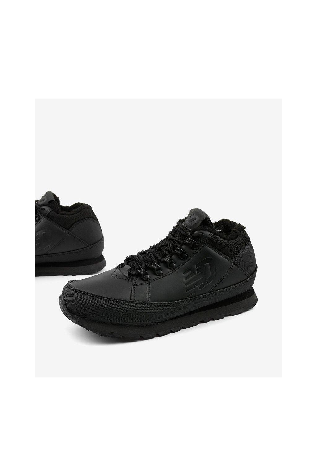 Pánske topánky tenisky čierne kód - GM