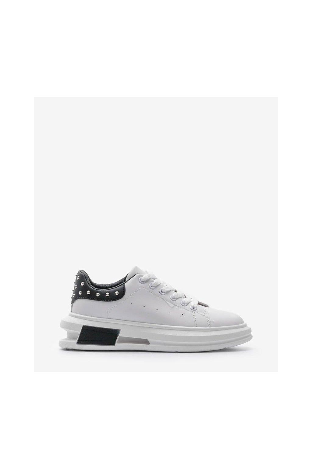 Dámske topánky tenisky biele kód S36 BL/WHITE - GM