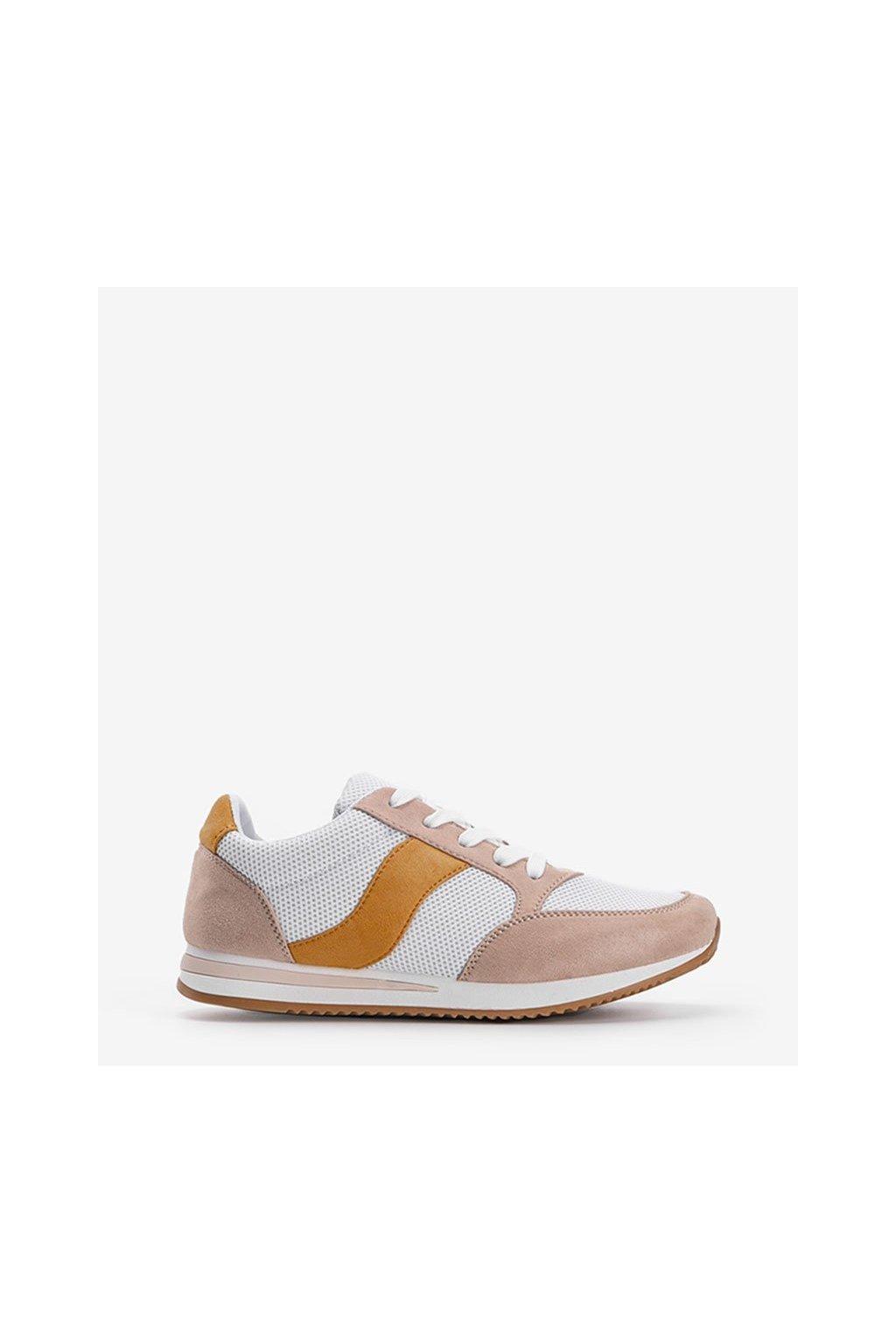 Dámske topánky tenisky hnedé kód SC26F - GM