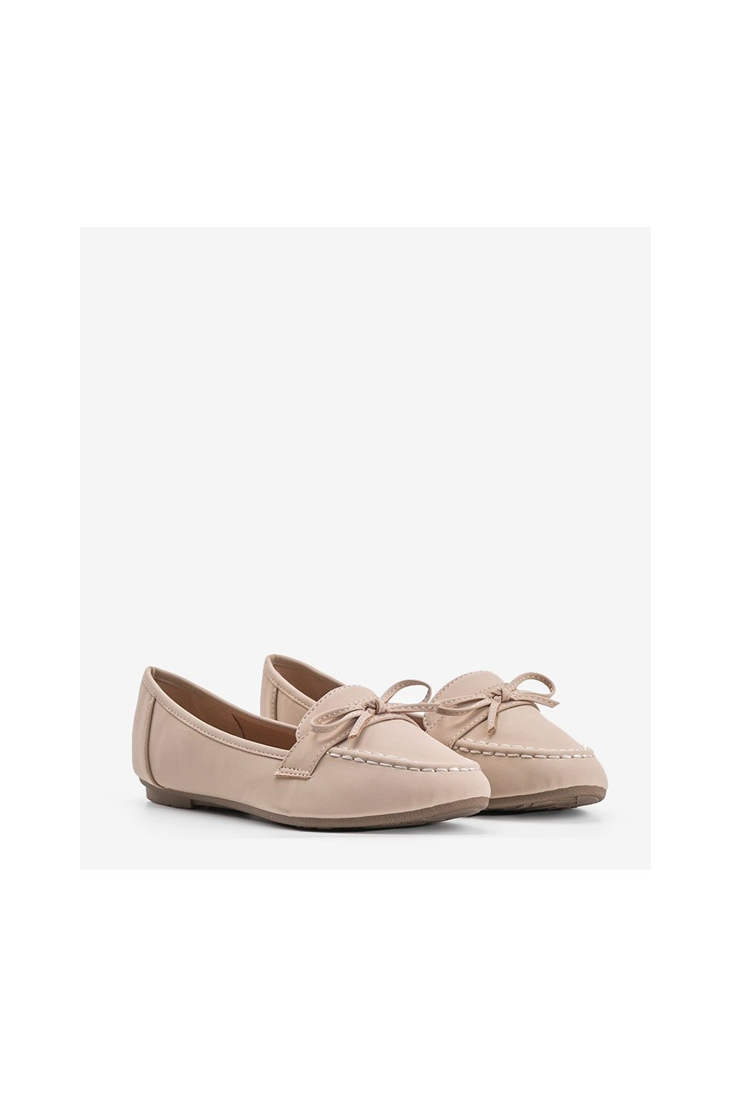 Dámske topánky mokasíny hnedé kód 98-30 - GM