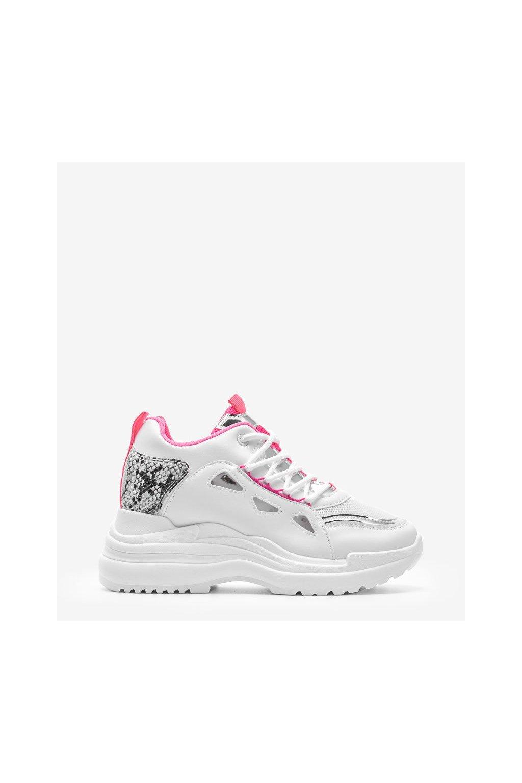 Dámske topánky tenisky ružové kód 3170 - GM