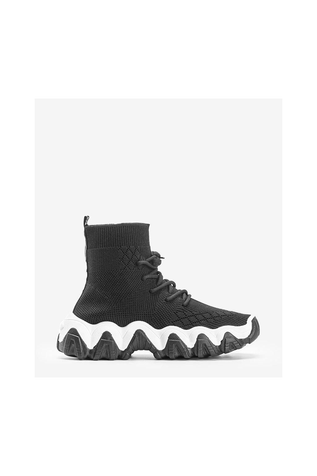 Dámske topánky tenisky čierne kód PC83 - GM