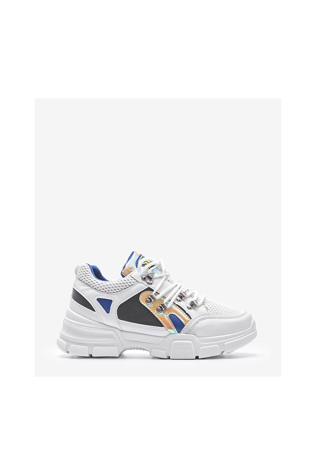 Dámske topánky tenisky biele kód BK001-9-6 - GM