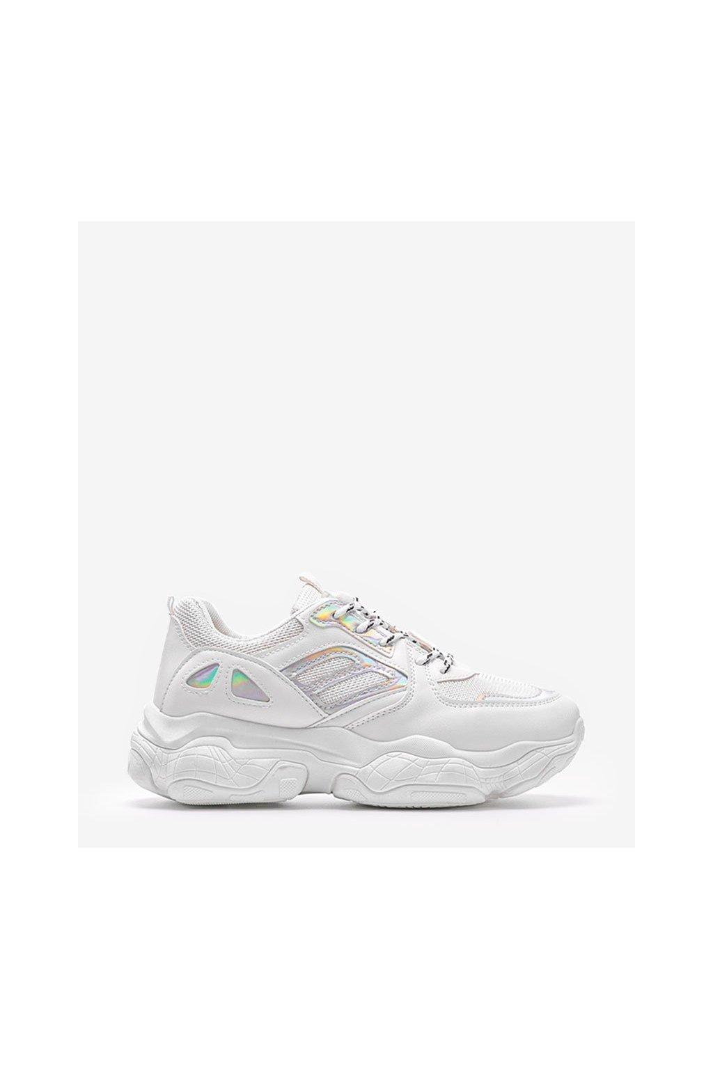 Dámske topánky tenisky biele kód H8 - GM