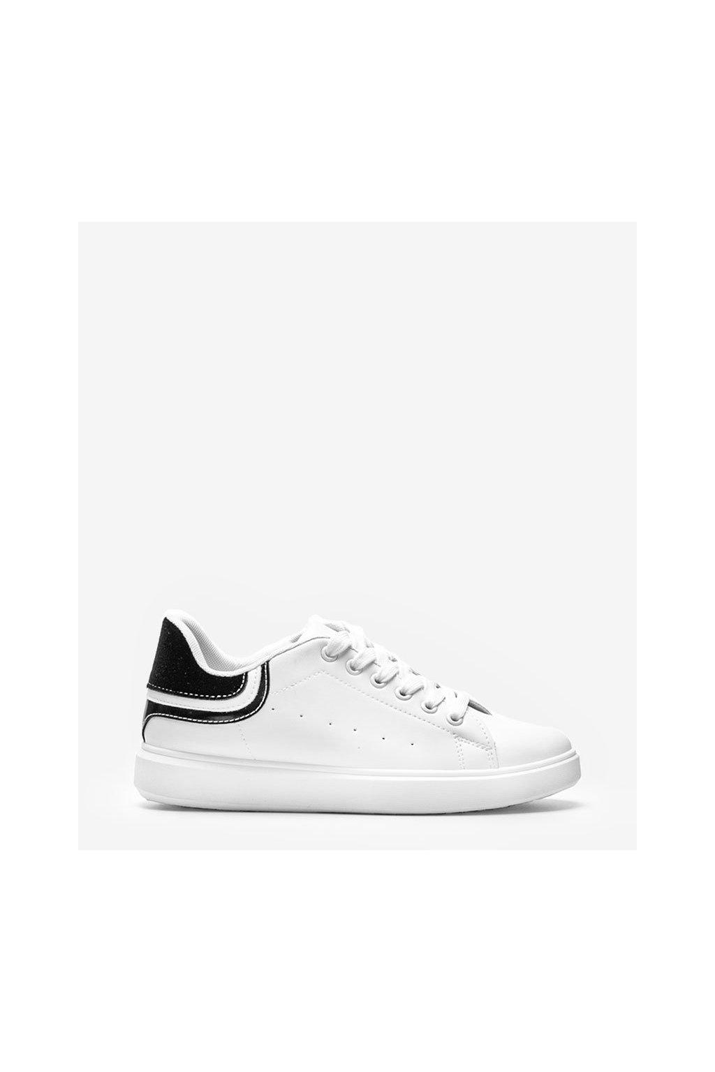 Dámske topánky tenisky biele kód 1059 - GM