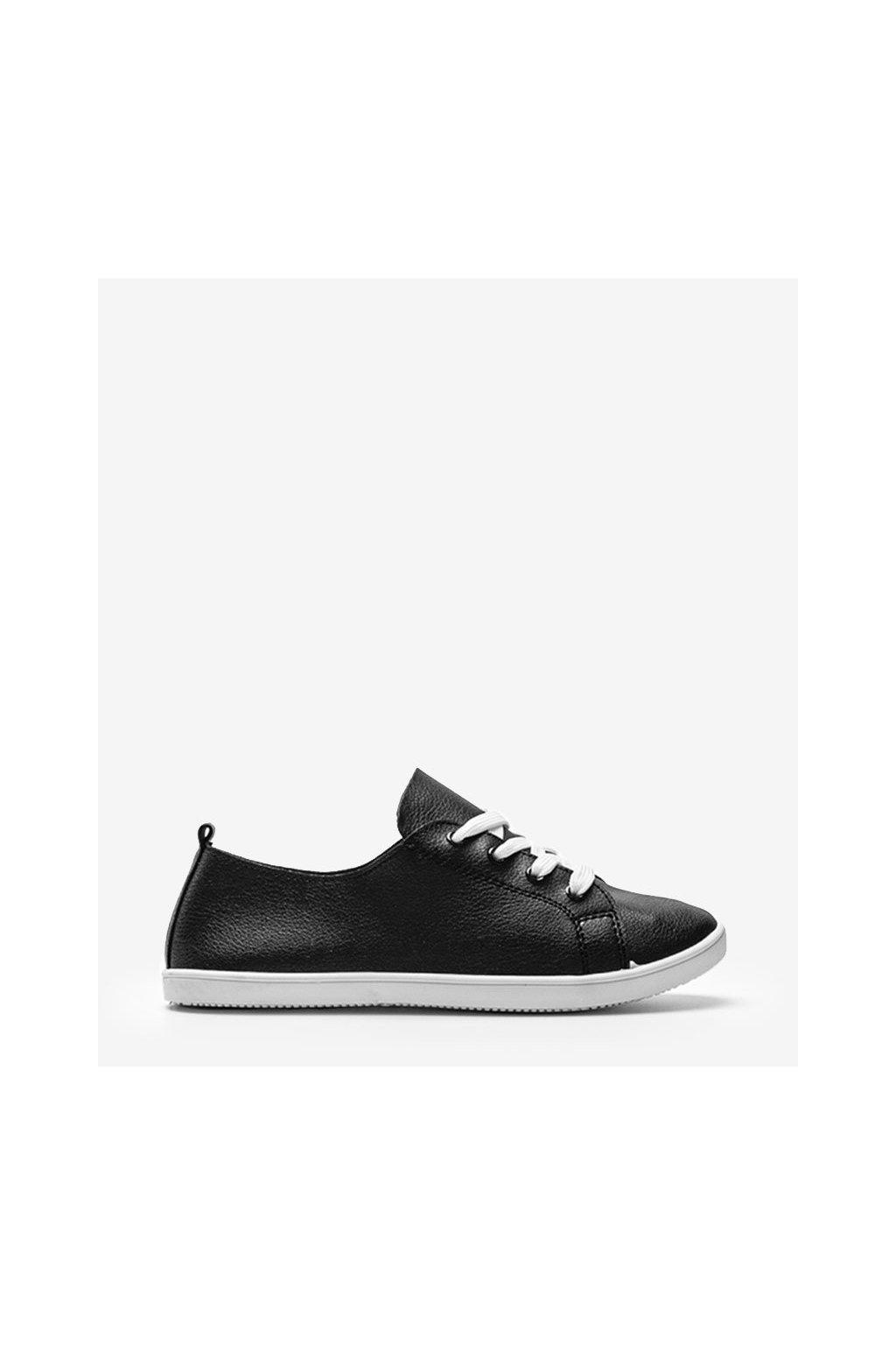 Dámske topánky tenisky čierne kód 6226 - GM