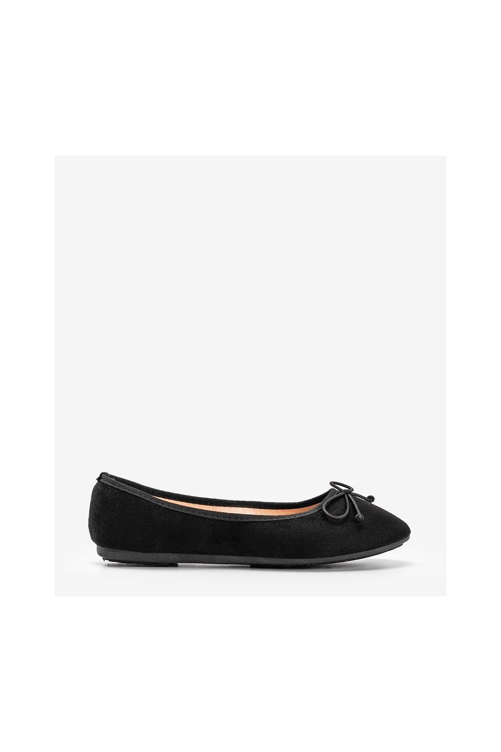 Dámske topánky mokasíny čierne kód 2CE-9490 - GM