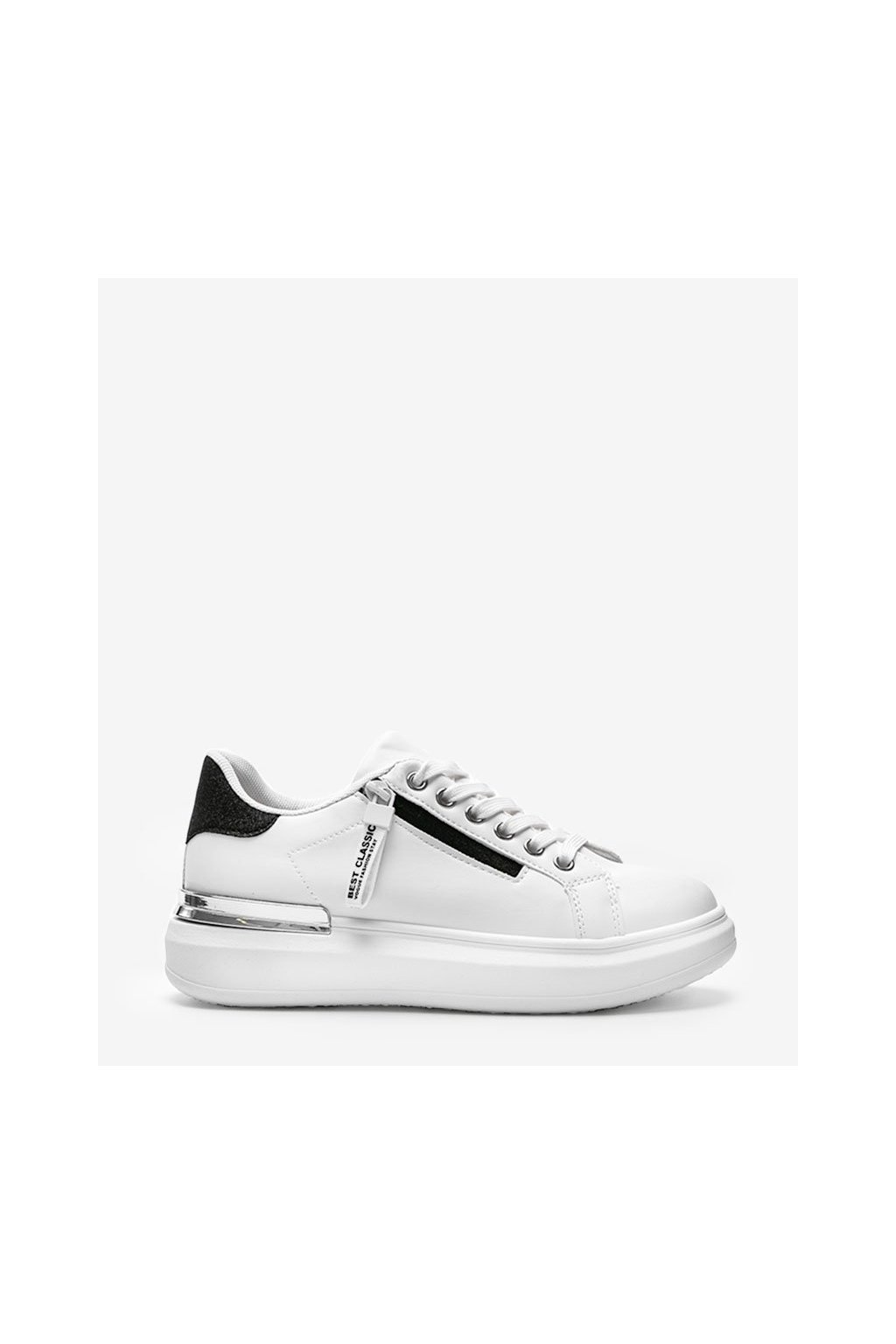 Dámske topánky tenisky biele kód F006 - GM