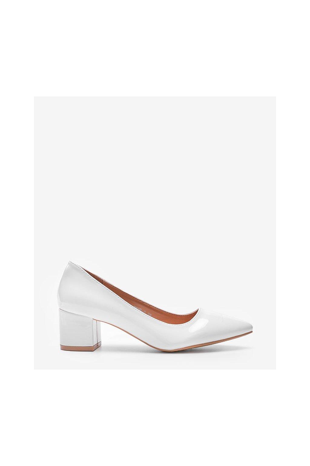 Dámske topánky lodičky biele kód 3839-2 - GM