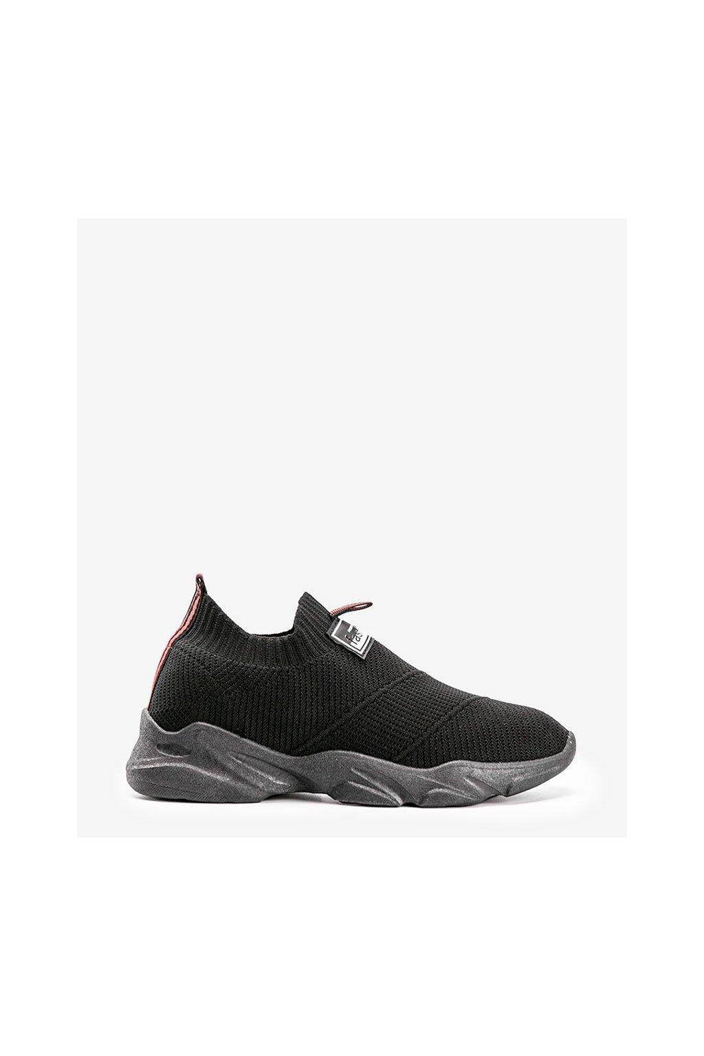 Dámske topánky tenisky čierne kód FF-11 - GM