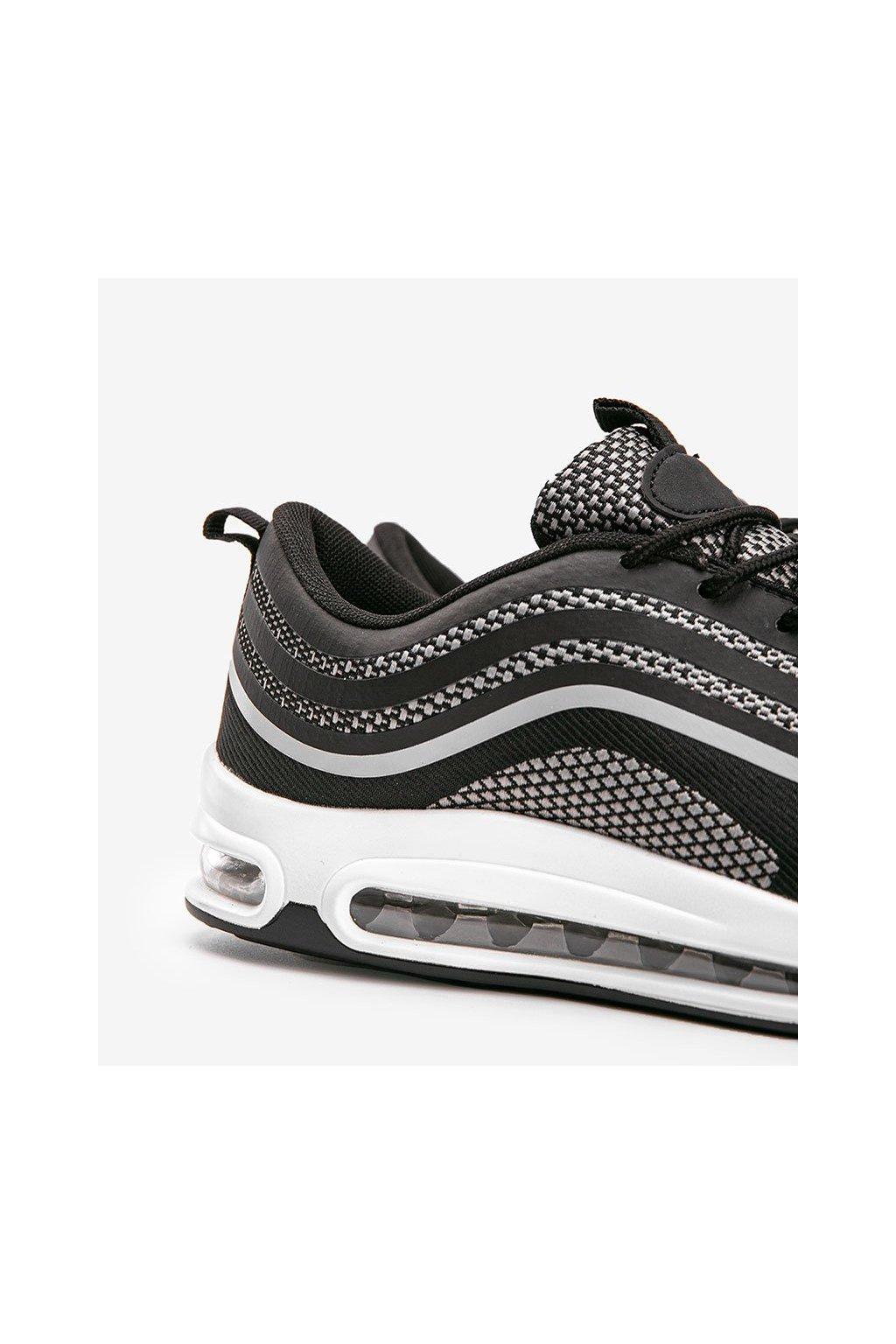 Pánske topánky tenisky čierne kód M3239-1 - GM