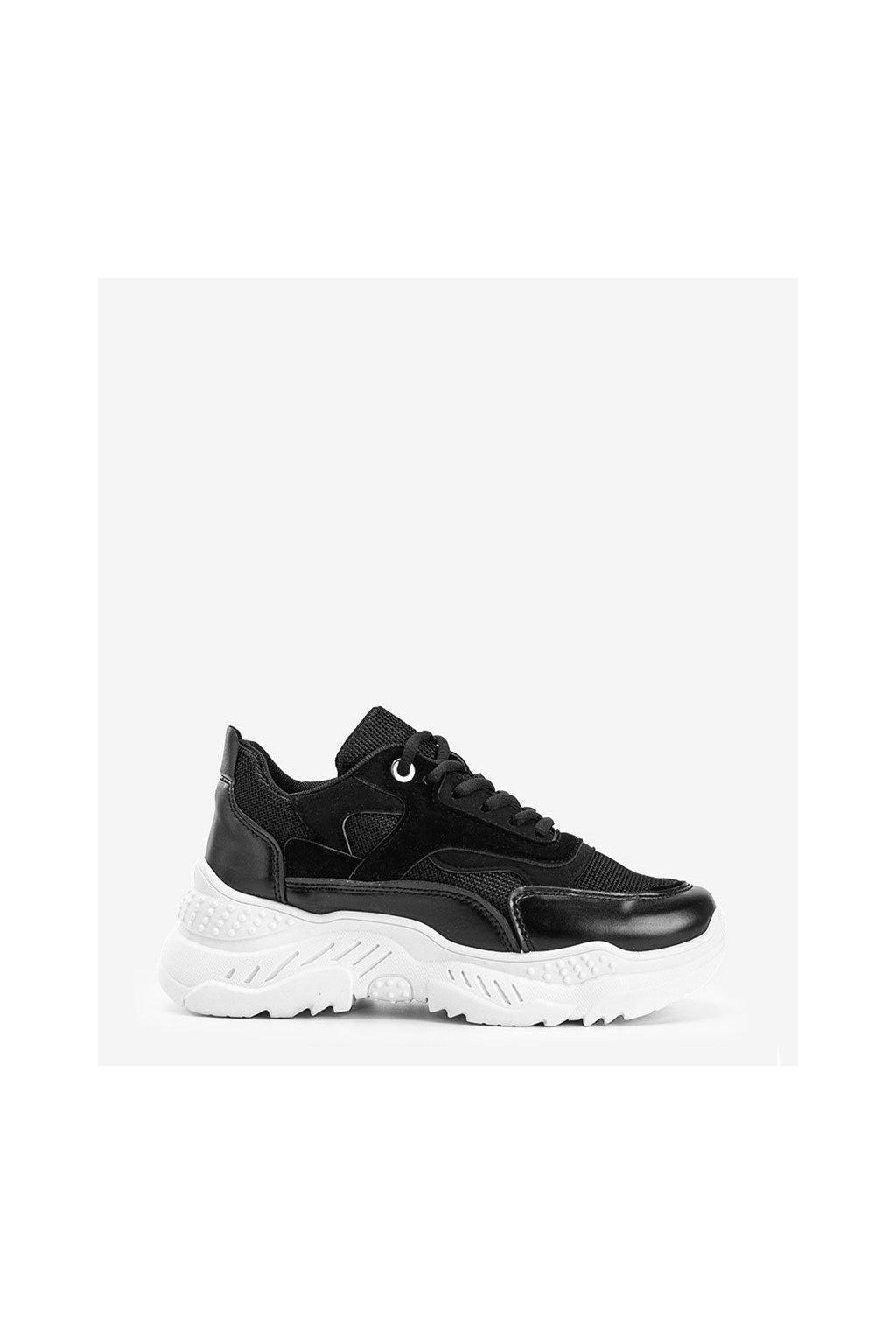 Dámske topánky tenisky čierne kód M3005 - GM