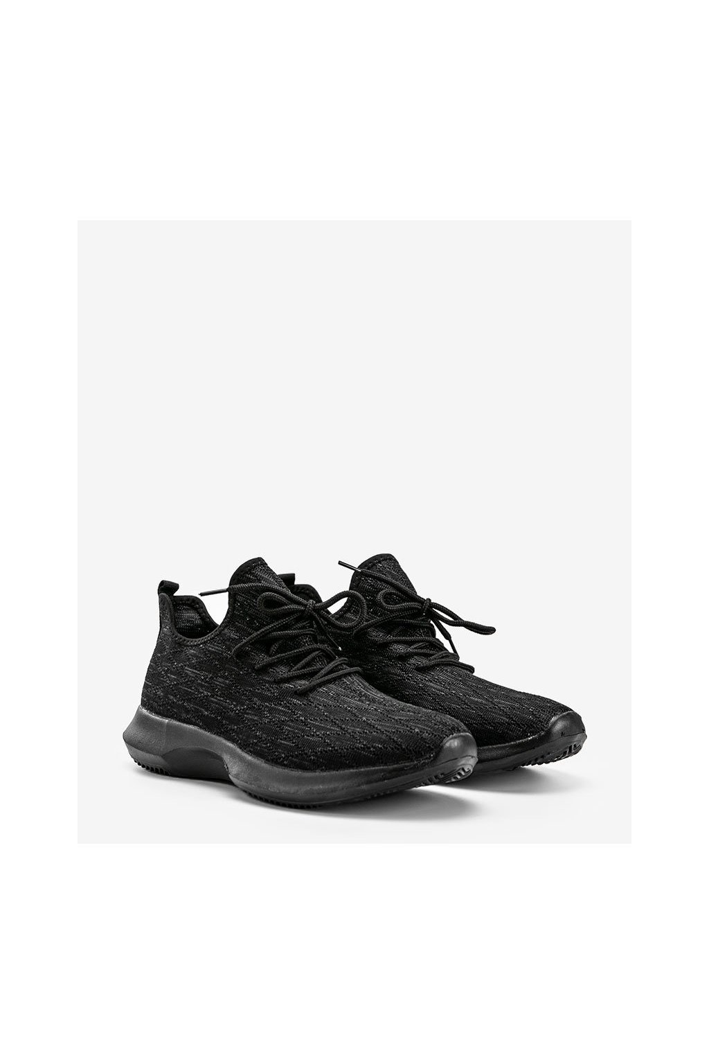 Pánske topánky tenisky čierne kód A9767-1 - GM