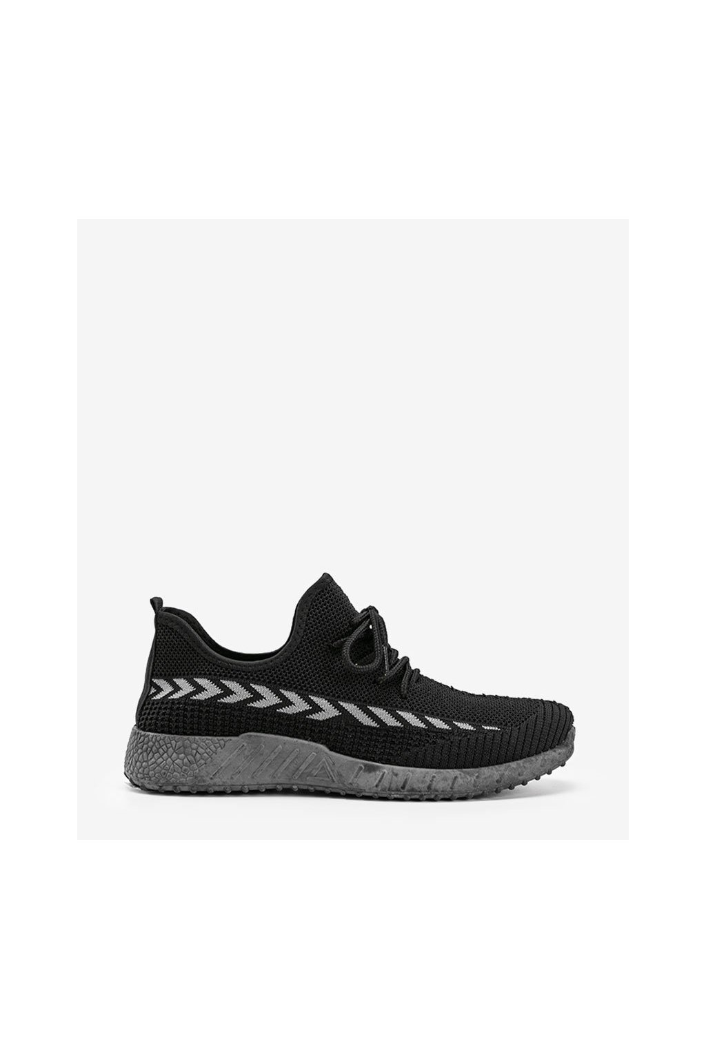 Pánske topánky tenisky čierne kód A9787 - GM