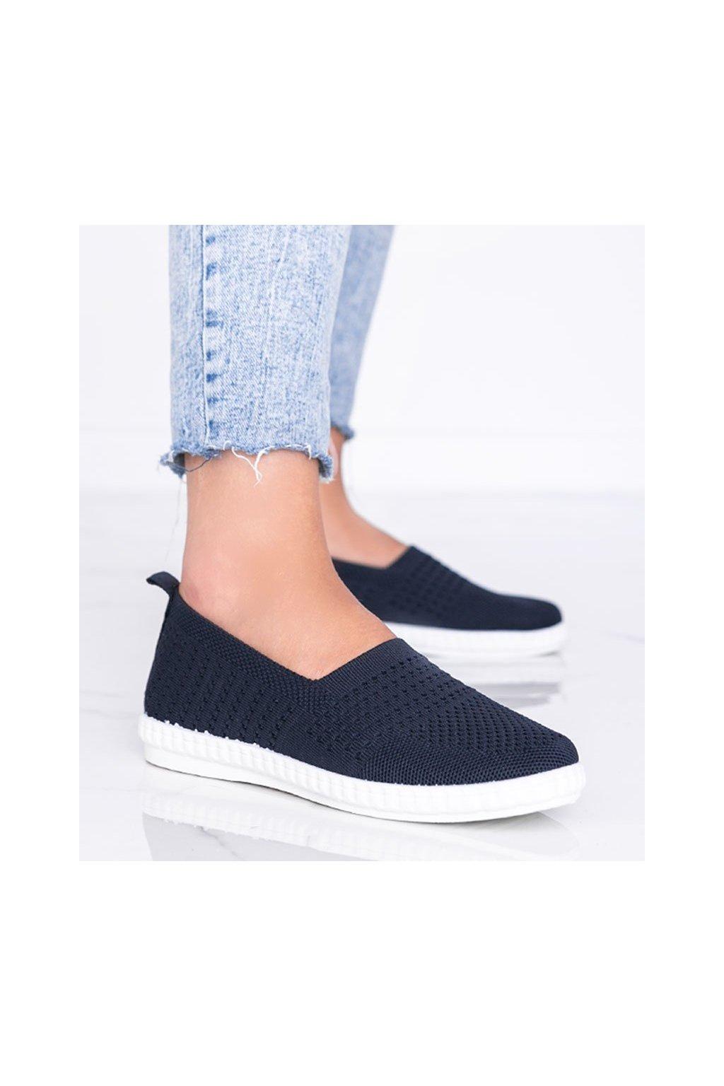 Dámske topánky tenisky modré kód 1053 - GM