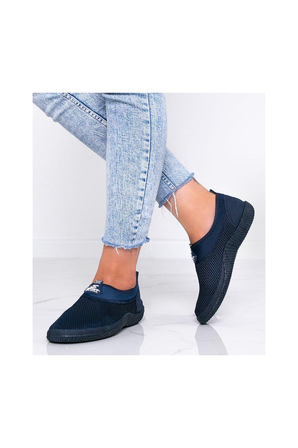Dámske topánky tenisky modré kód C9019 - GM