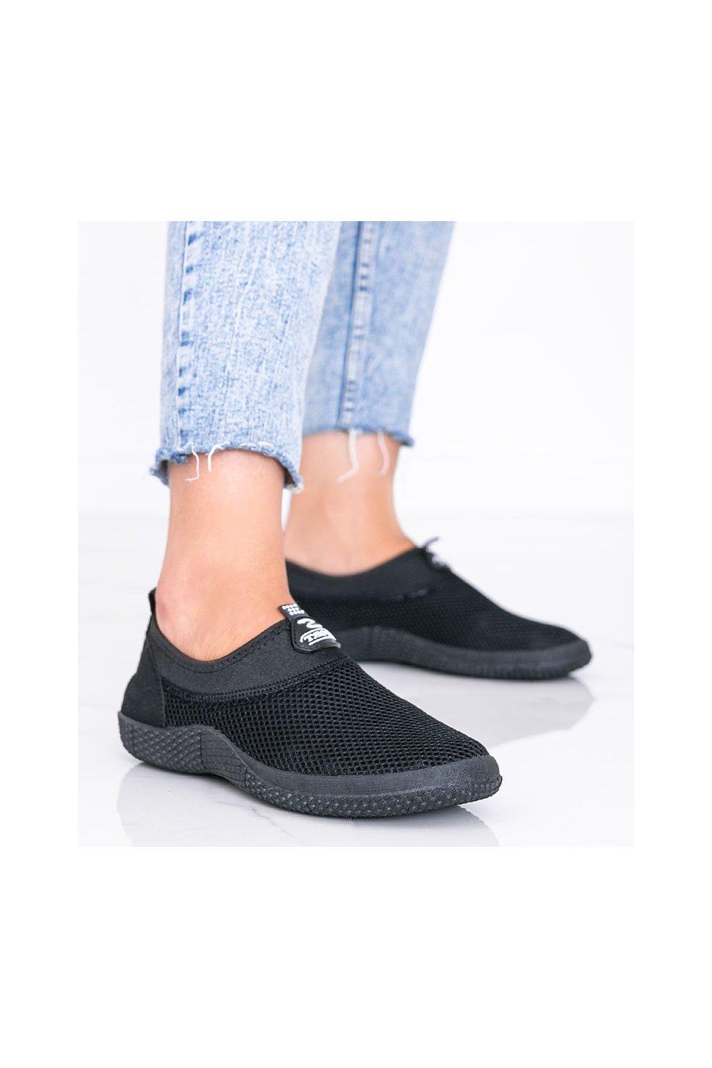 Dámske topánky tenisky čierne kód C9019 - GM