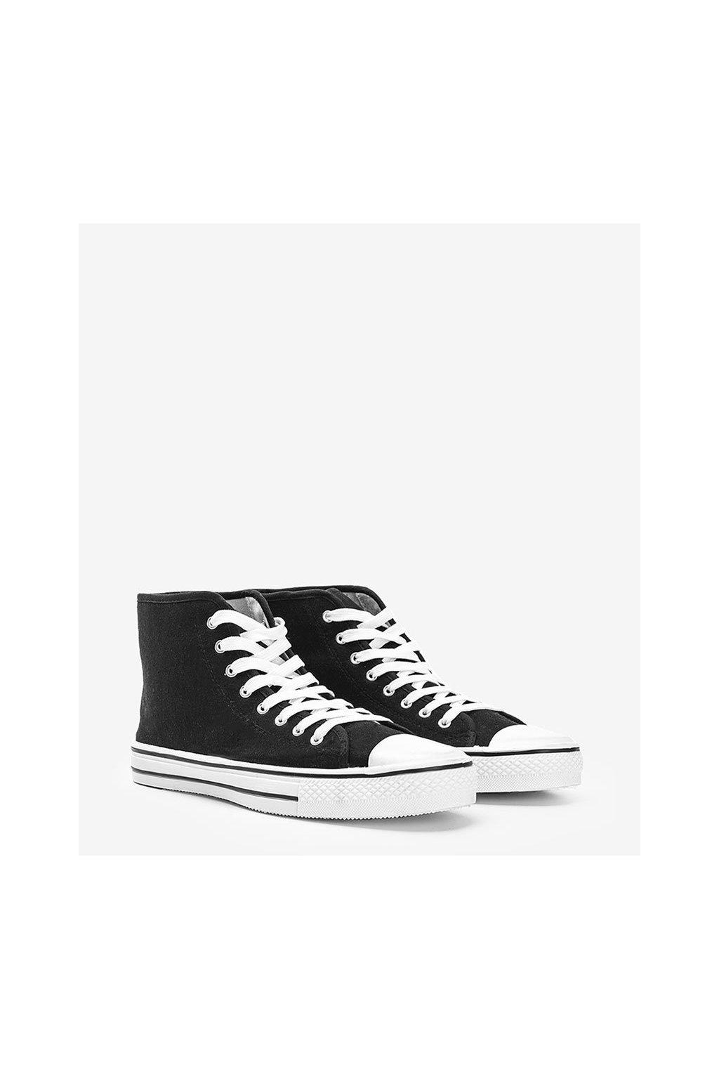 Pánske topánky tenisky čierne kód B082-M - GM