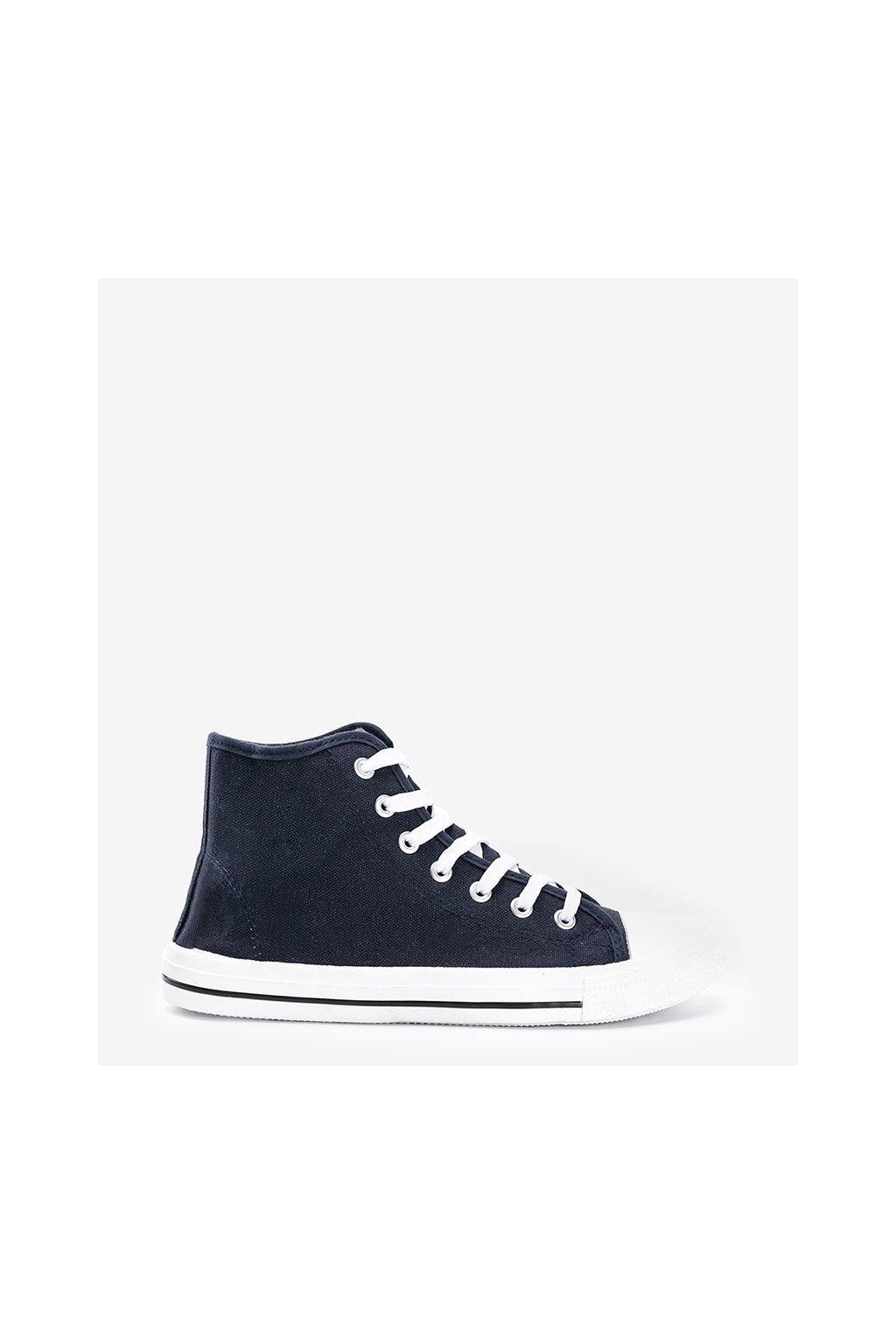 Pánske topánky tenisky modré kód B082-M - GM