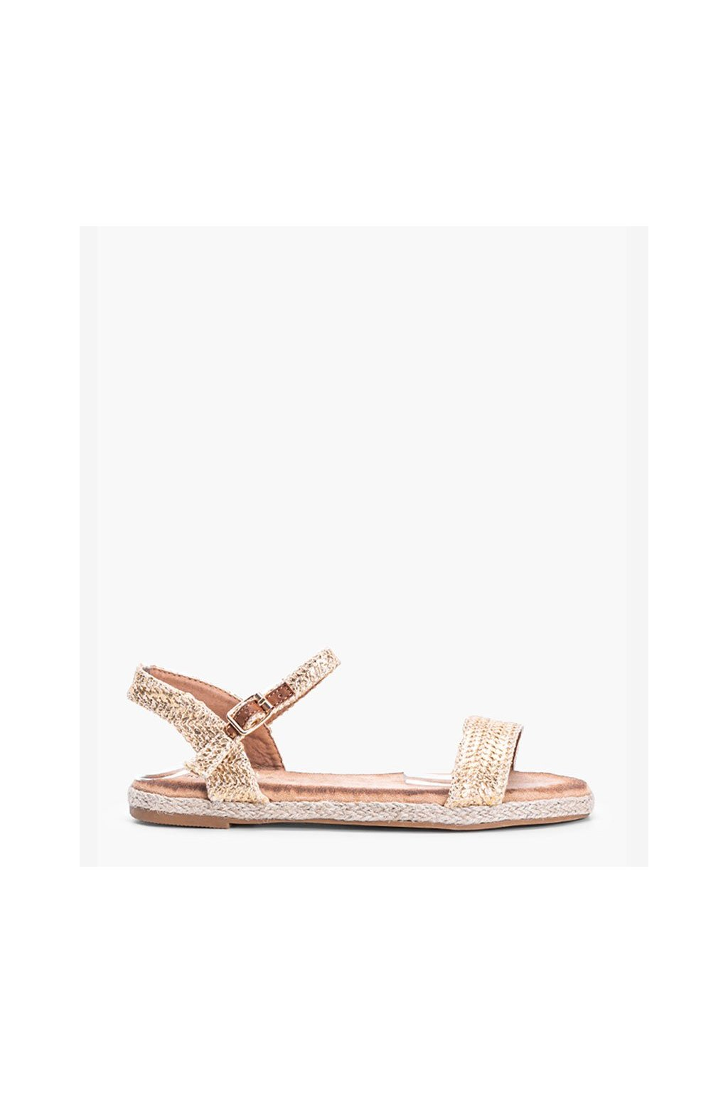 Dámske topánky sandále žlté kód L197SA-1 - GM
