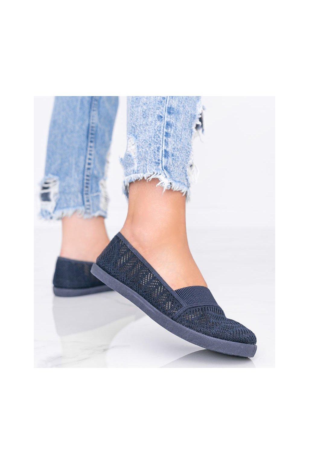 Dámske topánky tenisky modré kód MN28-2 - GM