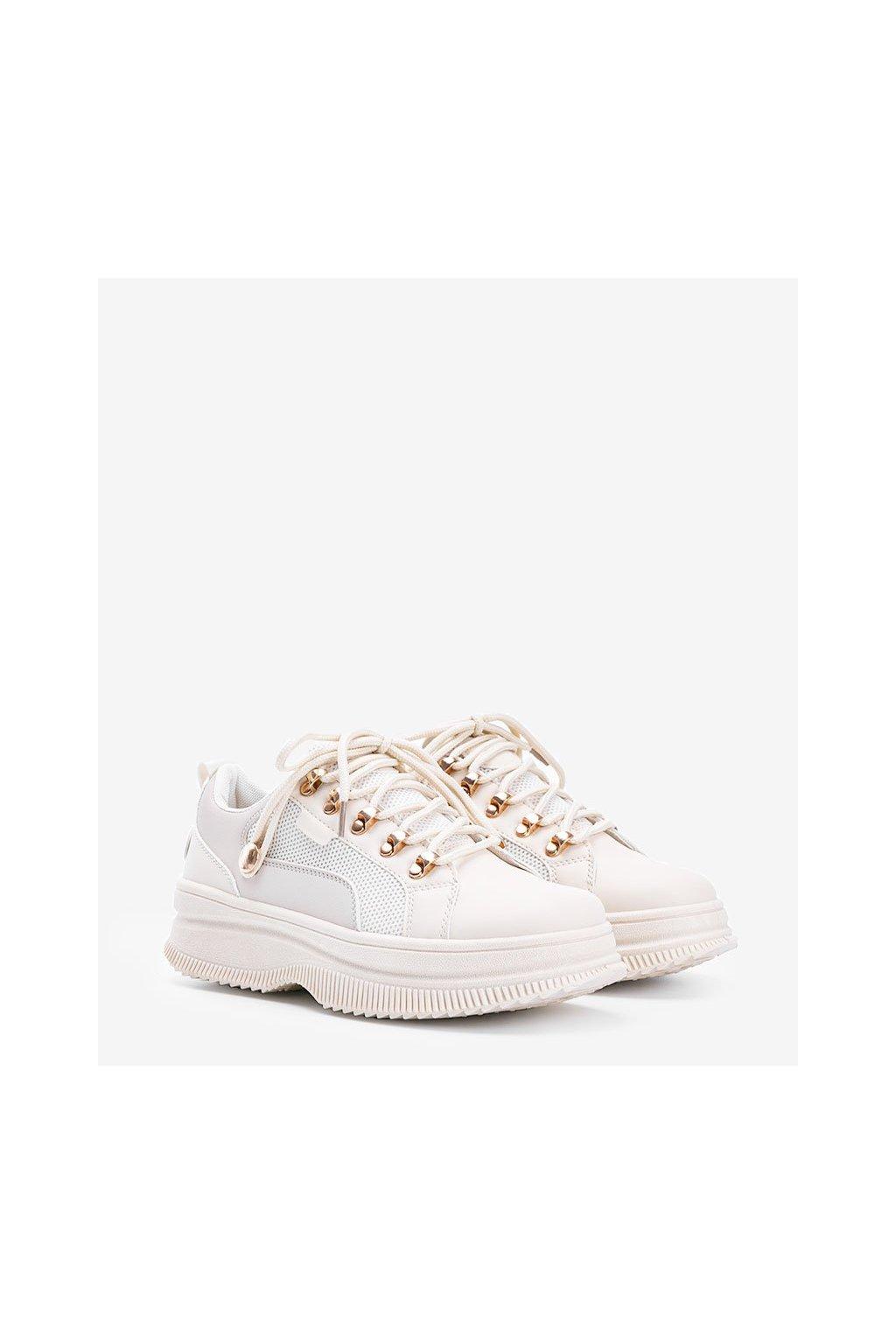 Dámske topánky tenisky hnedé kód 2060 - GM