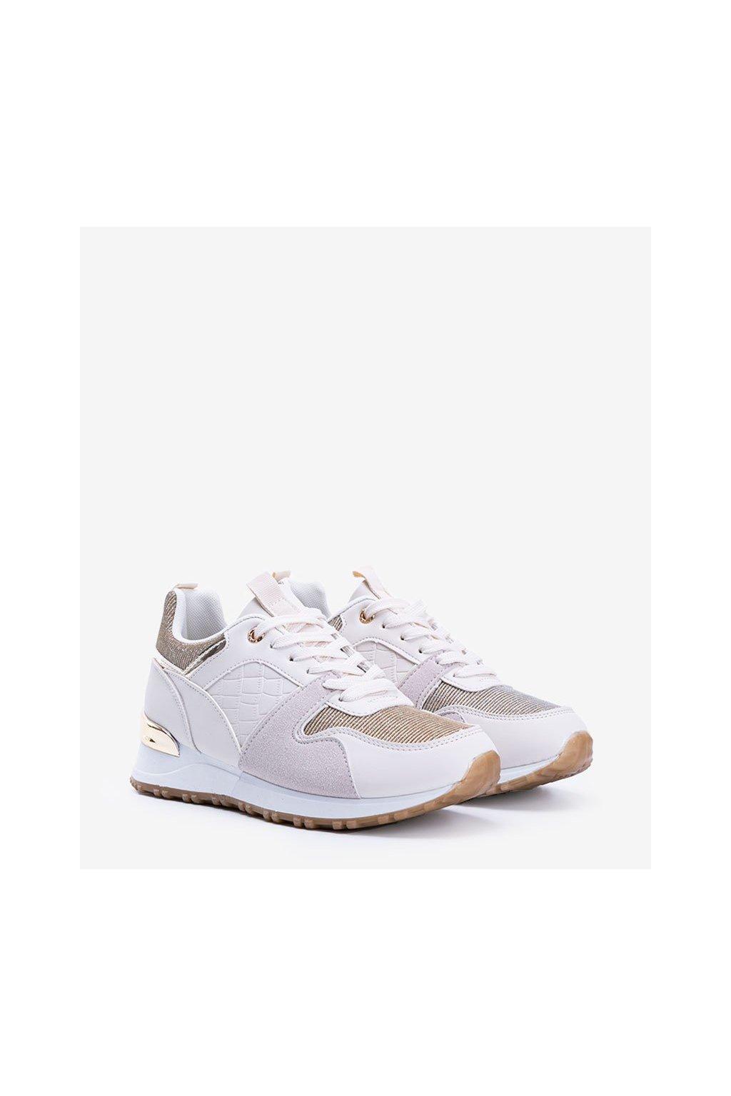 Dámske topánky tenisky hnedé kód C931 - GM