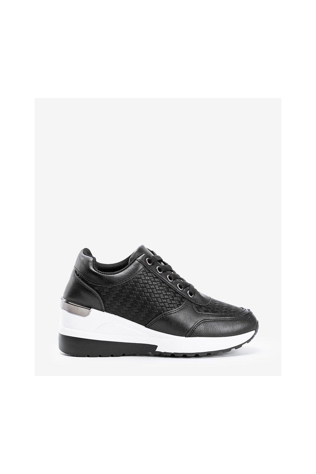 Dámske topánky tenisky čierne kód TF-2252 - GM