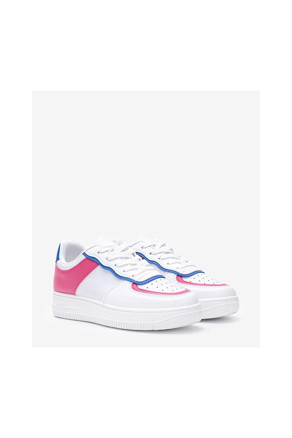 Dámske topánky tenisky ružové kód 1101 - GM