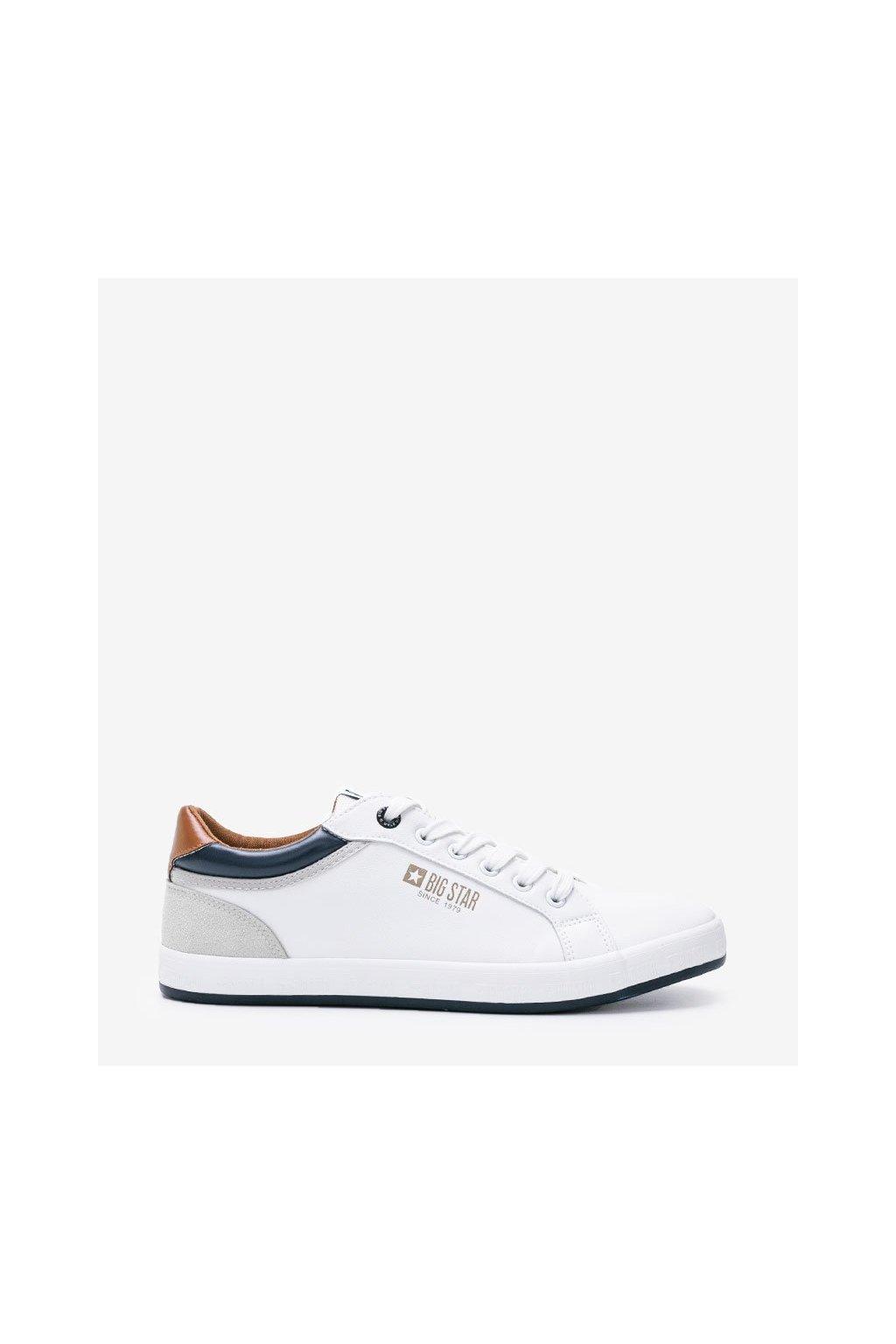 Pánske tenisky BS biele kód II174051 WHITE - GM