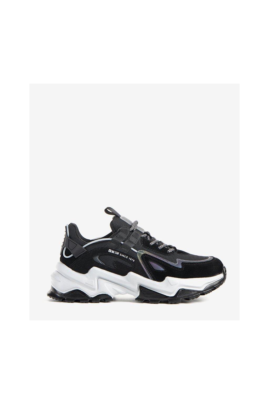 Dámske topánky BS čierne kód II174044 BL - GM