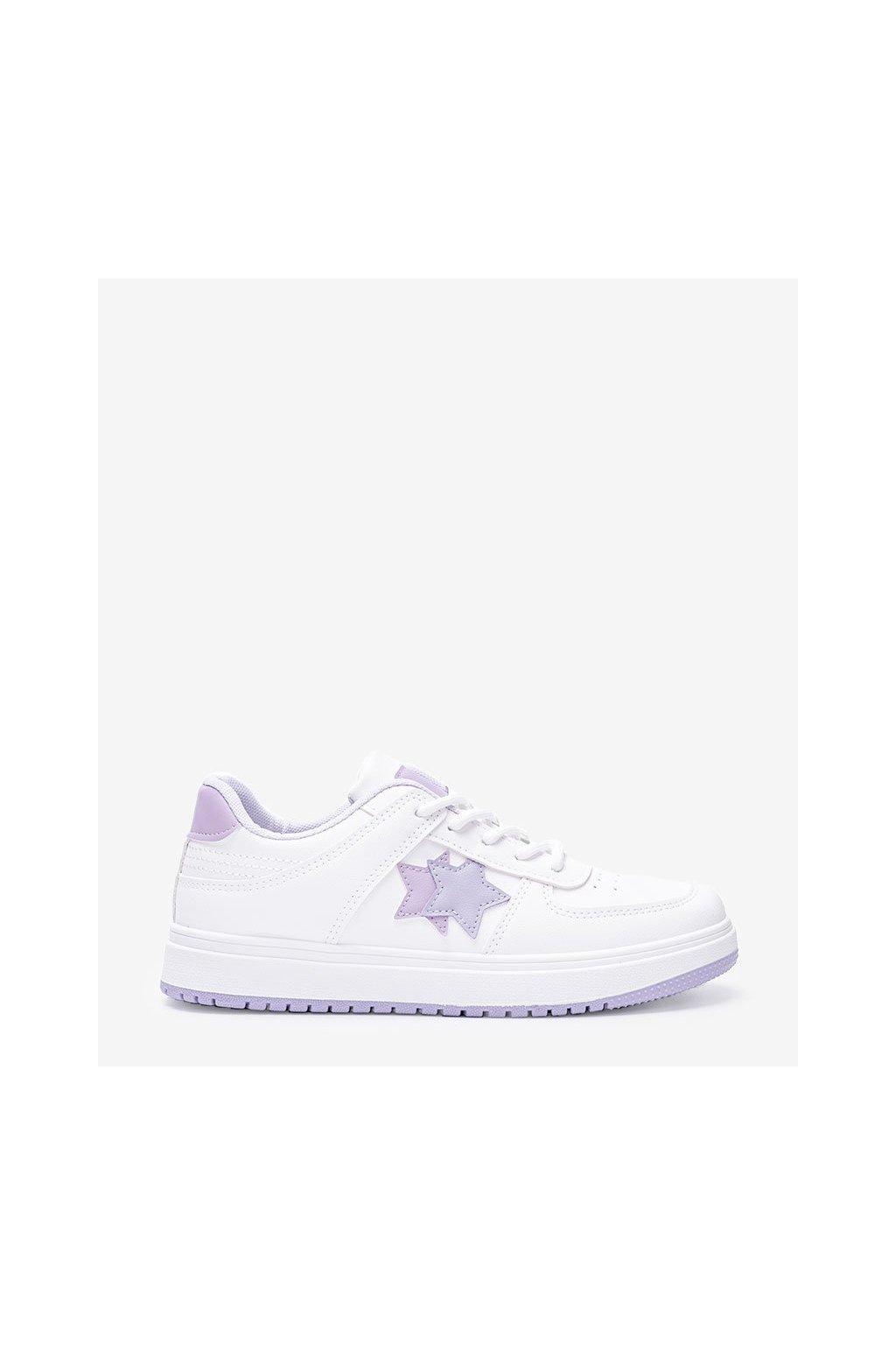Dámske topánky tenisky fialové kód 6138 - GM