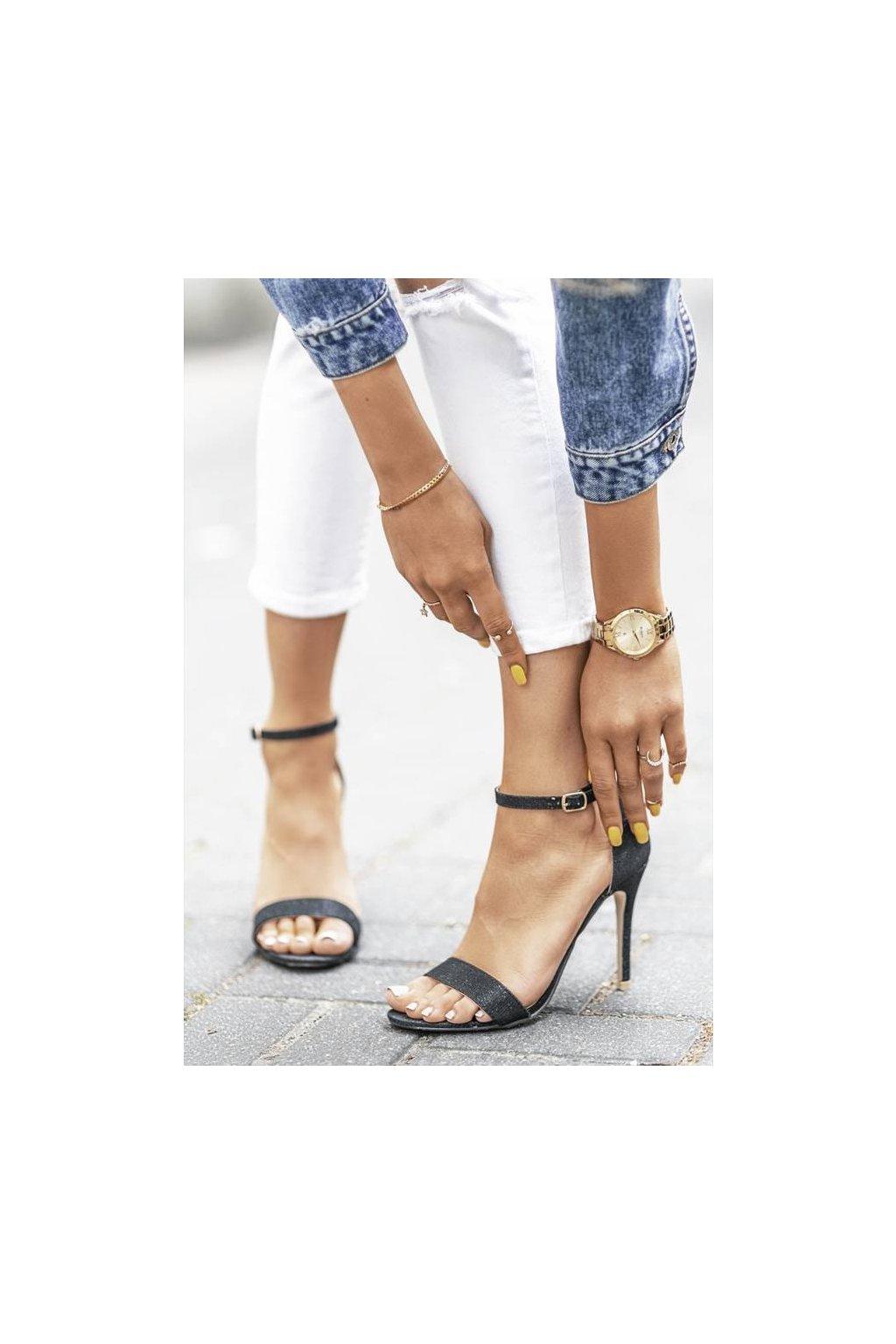 Dámske topánky sandále hnedé kód - GM