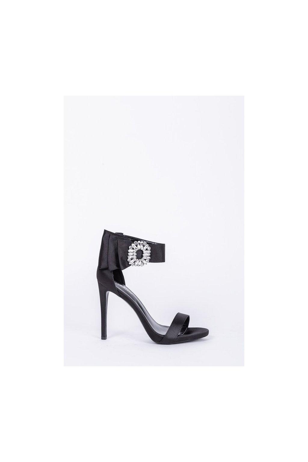 Dámske topánky sandále čierne kód - GM