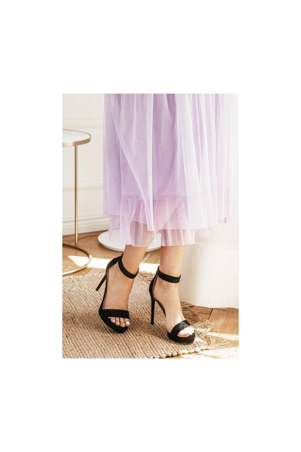 Dámske topánky sandále ružové kód - GM